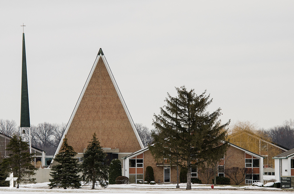 Exterior photograph of Concordia Theological Seminary on Monday, Jan. 20, 2014, in Fort Wayne, Ind. LCMS Communications/Erik M. Lunsford
