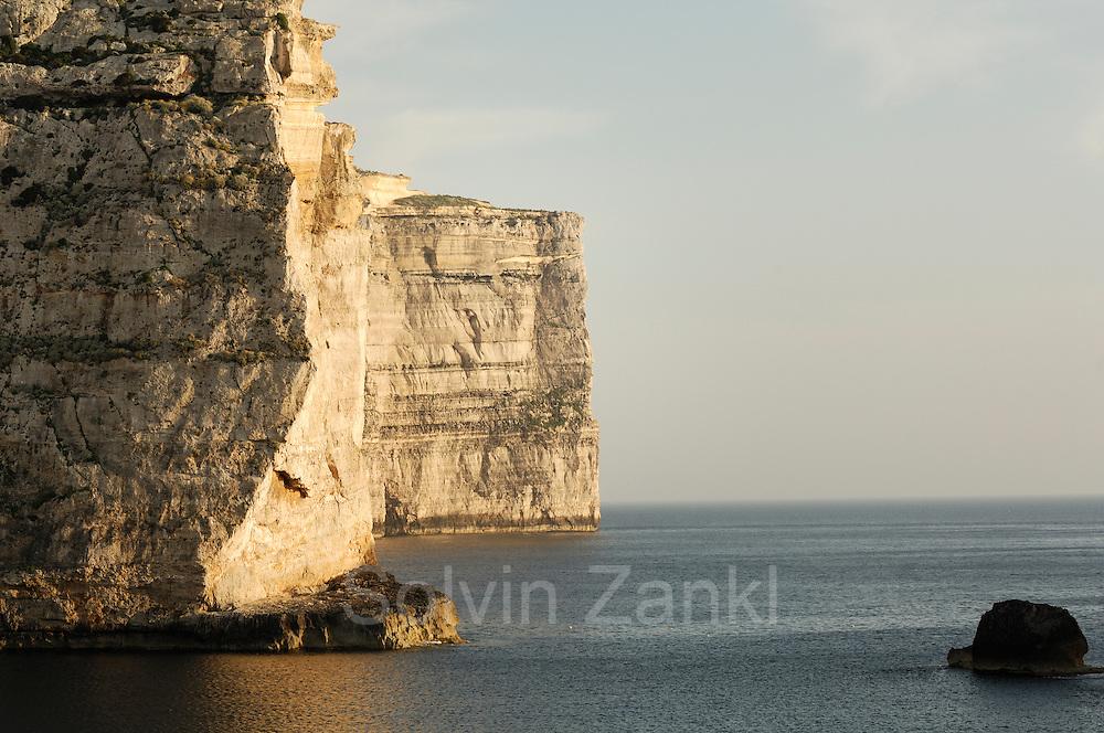 Coastline at Dwejra, Gozo