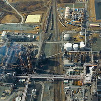 Aerial view of Valero Energy  in Delaware City, Del as seen in  2008.  (Special to the News Journal - Julia Robertson)