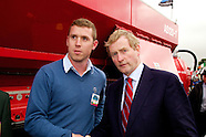 Taoiseach Enda Kenny at Agri Spead at The National Ploughing Championships 2014.