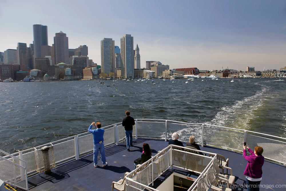USA, Massachusetts, Boston. Boston Harbor Cruise.