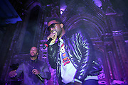l to r: Common and Kanye West at the ' Locals Only ' Underground Event Series sponsored by NBCNY.com featuring Common held at The Angel Orensanz Foundation for Art on the Lower East side on Mahanttan on December 11, 2008..
