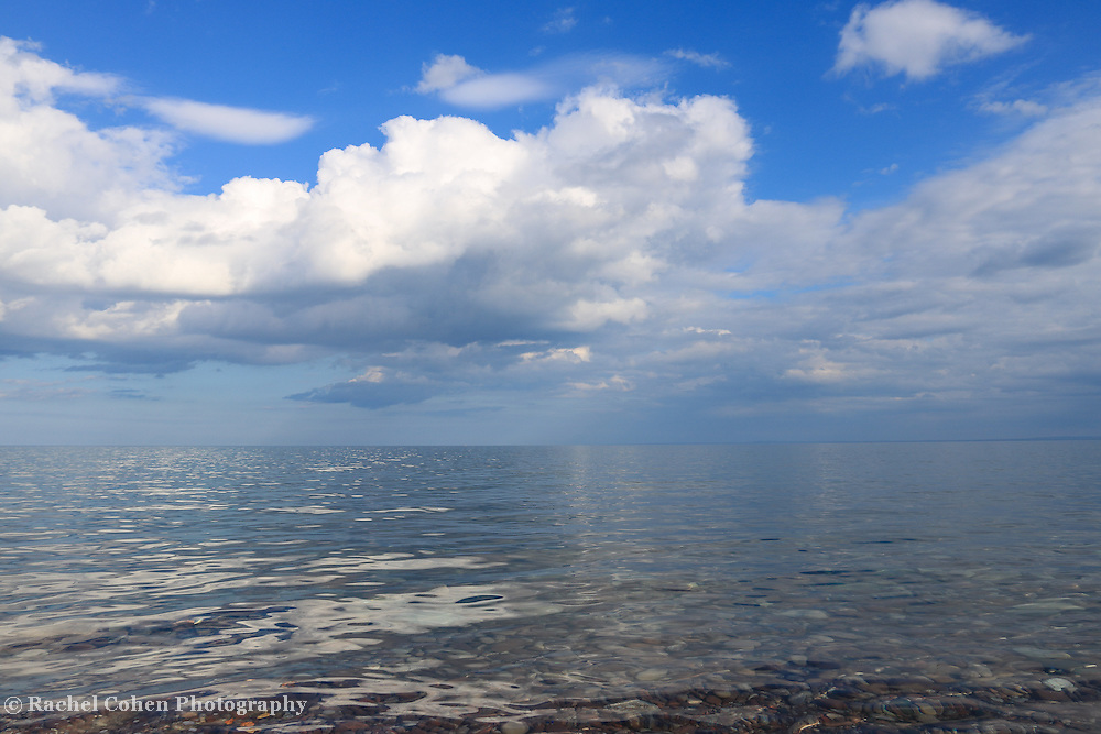 &quot;Imagine in Blue&quot;<br /> <br /> A totally relaxing moment on Lake Superior!