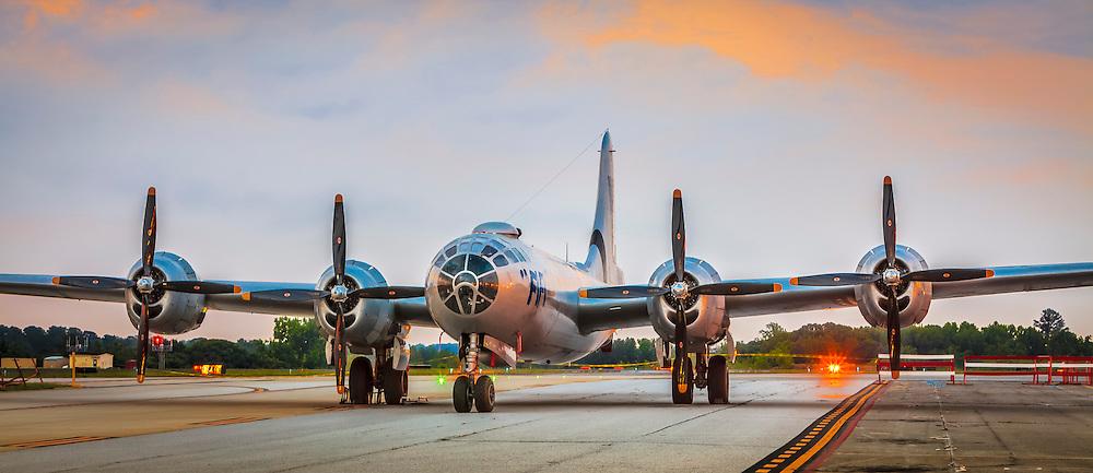 Operated by the Commemorative Air Force.  Dekalb Peachtree Airport (PDK), Atlanta.