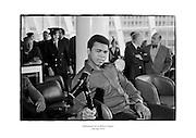 Muhammad Ali at Dublin Airport.<br /> <br /> 11th July 1972<br /> 11/07/1972