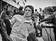 Patrick Depailler quietly slipped into the 1972 United States Grand Prix as the third driver for the Elf-Tyrrell-Ford team teaming with Jackie Stewart and Francois Cevert. Talented, but shunning the spotlight of a Grand Prix driver, Depailler used the now outdated Tyrrell 003 to finish a smooth and impressive seventh behind winner Stewart and second place Cevert. <br /> <br /> In late 1973, team owner Ken Tyrrell remembered his drive and named him to join Jody Scheckter at Tyrrell to replace the retired Stewart and the deceased Cevert, lost at the 1973 United States Grand Prix. <br /> <br /> After six years with the slowly unraveling Tyrrell team, and his first Grand Prix victory at Monaco, Depailler joined Ligier in 1979, winning his second Grand Prix in Spain and finishing fifth at Monaco. A week later, he severely broke both of his legs in a hang gliding accident and was summarily fired by Ligier. <br /> <br /> Depailler returned with a revitalized Marlboro Alfa Romeo team in 1980. The cars were quick over short runs, but their Alfa Romeo V12 engines were extremely unreliable. His development work with the team was just beginning to turn things around when he was killed testing the car for the 1980 German Grand Prix at Hochenheim.