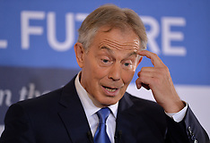 JUN 02 2014 Tony Blair speaks at CBI Event