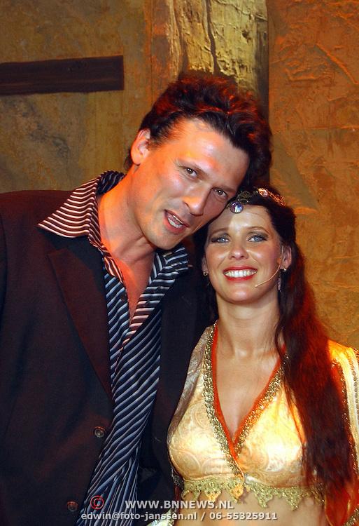 Premiere Alladin, Bas Westerweel en Babette van Veen