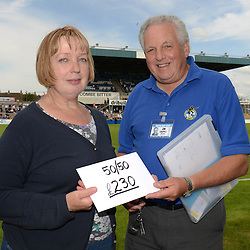50/50 draw winner - Photo mandatory by-line: Dougie Allward/JMP - Mobile: 07966 386802 - 18/07/2015 - SPORT - Football - Bristol - Memorial Stadium - Pre-Season Friendly