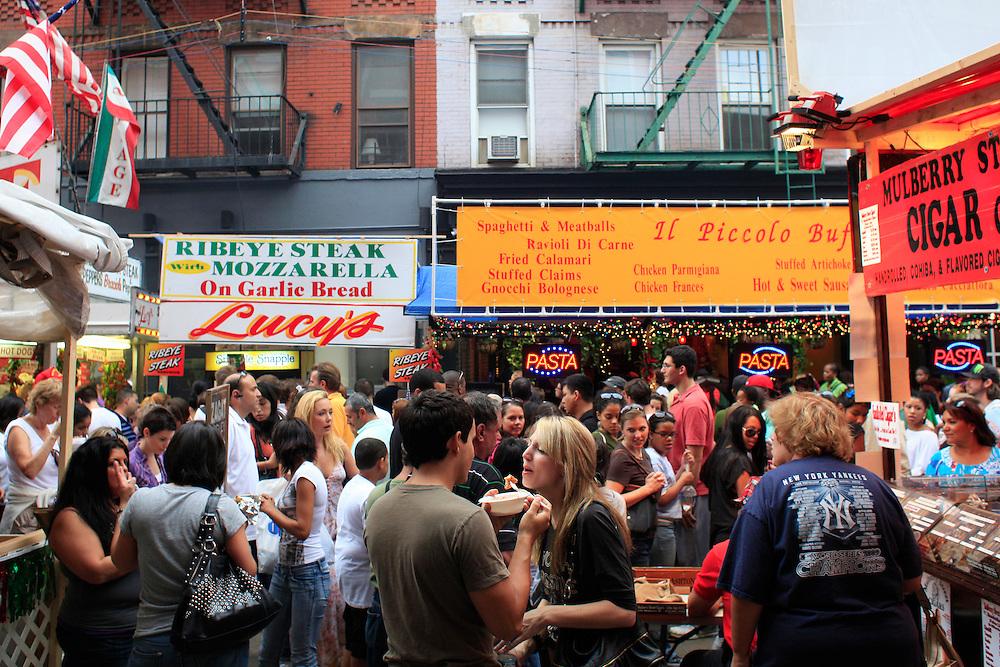 San Genaro Festival.  Little Italy, Manhattan