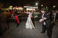 Zombie Bride and Groom - Silver Spring Zombie Lurch 2013