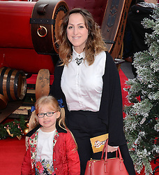 Eliza Cottrell and Natalie Cassidy attend The UK Premiere of Get Santa at Vue West End, Leicester Square, London on Sunday 30th November 2014