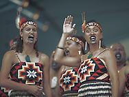 'Kapa Haka' by Whangara-Mai-Tawhiti tribe, Palmerston North, New Zealand