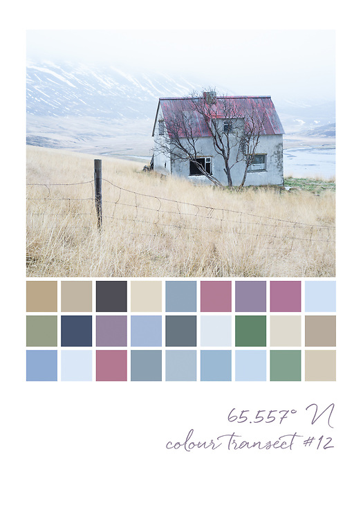 Colour transect #12, 65.557° N
