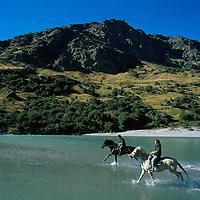 Horseback riding near Queenstown