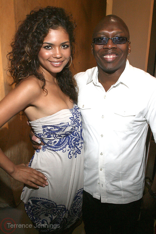 r to l: Reggie Scott (American Black Film Festival) and Guest  at ' The Young Hollywood ' panel at The 2008 American Black Film Festival  held at The Writers Guild of America on August 9, 2008...The Festival film slate is primarily composed of world premieres (shorts, narrative features and documentaries), positioning it as the leading film festival in the world for African American and urban content. Since its inception ABFF, has screened over 450 films and has rewarded and redefined artistic excellence in independent filmmaking.