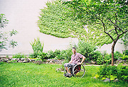 Vic Calise, paralympic athlete and ADA coordinator for NYC Parks