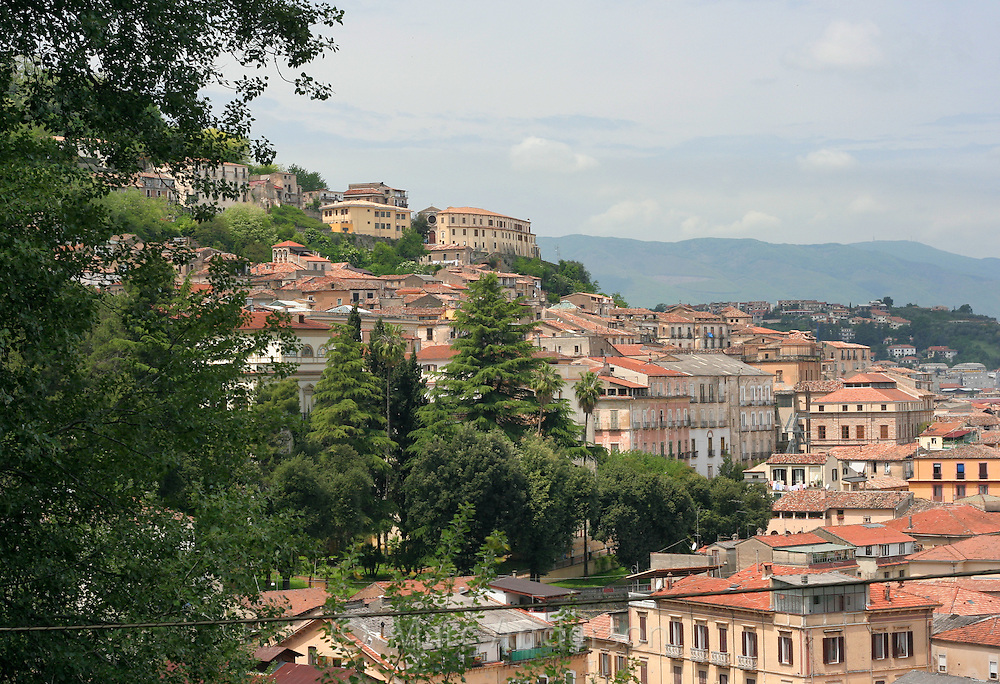 Town of Cosenza, Calabria province, Italy