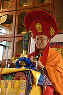 June 5-7 2009 - Chicago, IL ..Garchen Rinpoche teaching and Kalachakra Empowerment.at KTC, Cicero, IL...Photo Credit: Heather A. Lindquist...