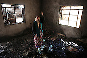 Only Grandmother Hana still lives in Deir Sunbul (Syria) after all family members have fled the village when Assad loyalists burnt down her families house. Deir Sunbul in the contested Jabal Al-Zawiha area was beeing attacked by syrian army in April, leaving several people dead. Many houses were set on fire by Assad loyalists and inhabitants fled the region fearing new attacks.