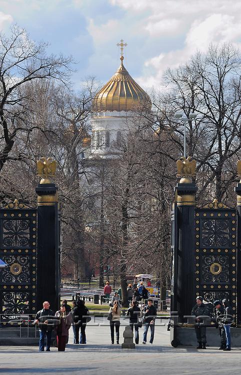 Alexander Gardens, Moscow.