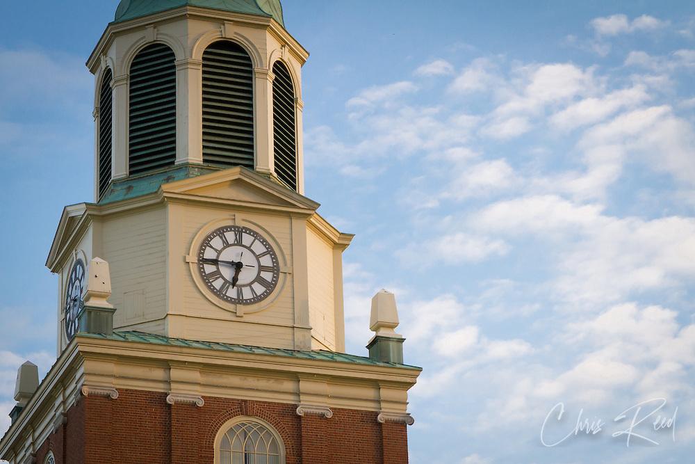 USA, North Carolina, Winston-Salem. The Wait Chapel on the campus of Wake Forest University.