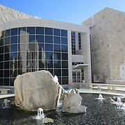 The Getty Center in Los Angeles, California. Modern architecture defined by shapes, forms, textures, colors and sheen!