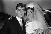 1962 - Wedding of Fergus Keogh to Miss Miriam Caffrey