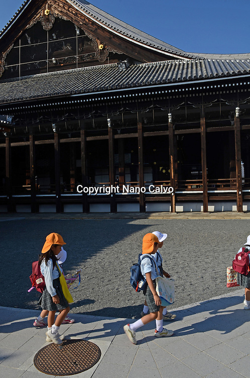 Nishi Hongan-ji, Historic Monument of Ancient Kyoto and UNESCO World Heritage Site