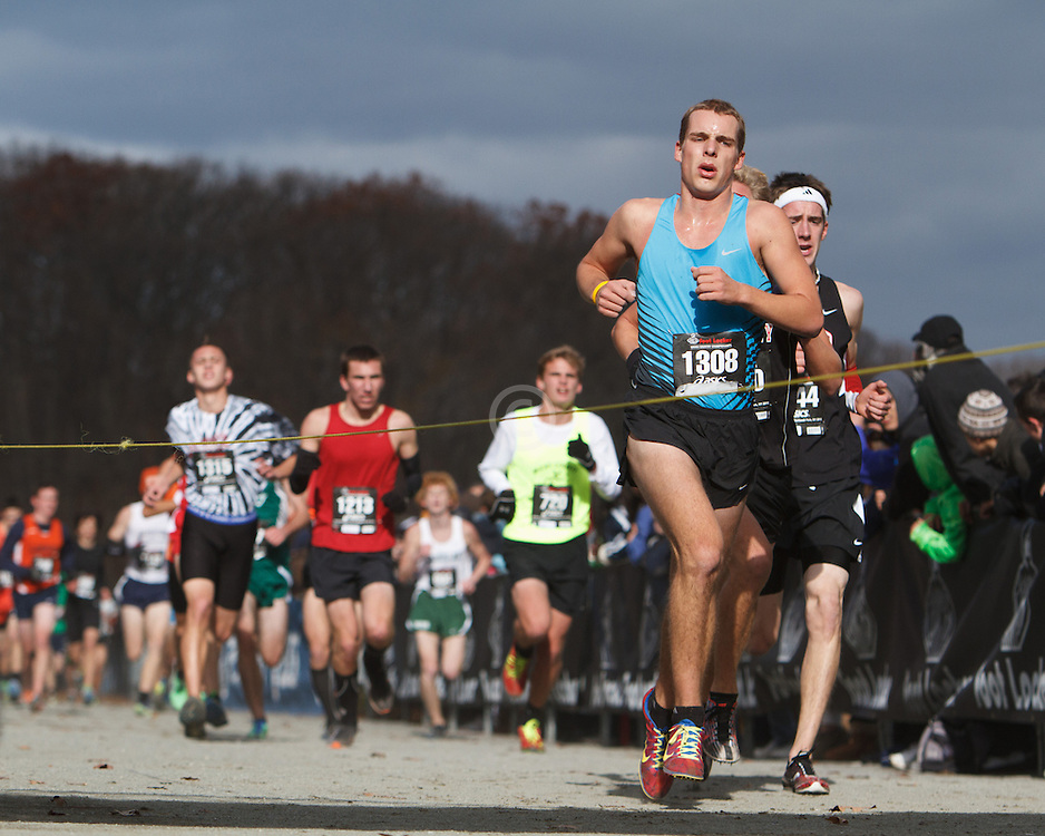 Foot Locker Cross Country Northeast Regional Championship race, Samuel Williams, PA