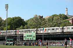 May 6, 2012; Bronx, NY; USA; Atmosphere shot of Gaelic Park during the match between Sligo and New York.