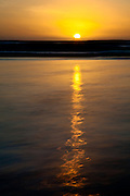 Oreti Beach Sunset, Invercargill, Southland, New Zealand