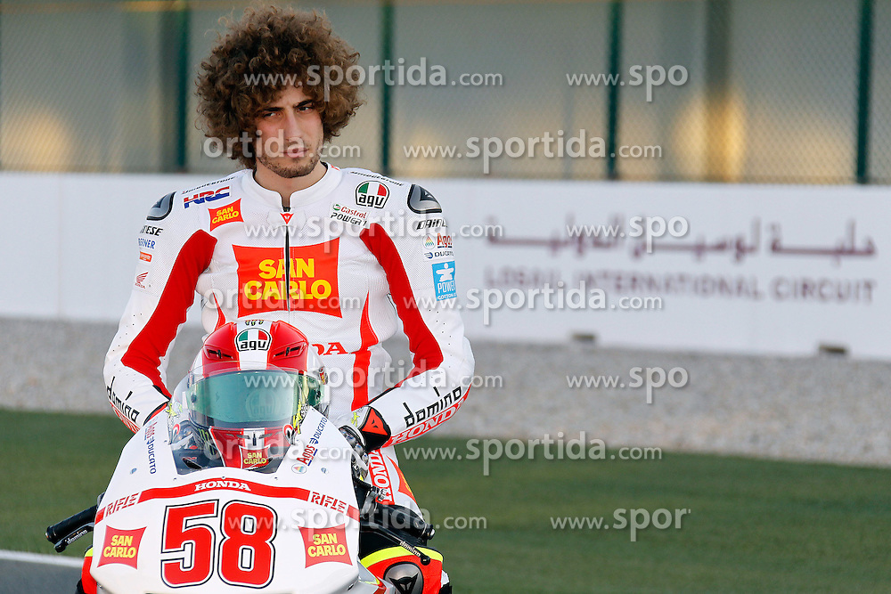 19.03.2010, Doha, Katar, QAT, MotoGP, Tests im Bild Marco Simoncelli - San Carlo Team, EXPA Pictures © 2010, PhotoCredit: EXPA/ InsideFoto/ Semedia / SPORTIDA PHOTO AGENCY