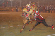 Lafayette High's D.K. Buford (2) vs. Shannon in Shannon, Miss. on Friday, September 20, 2013. Lafayette High won.