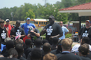 Terrance Metcalf attends the Southern Elite Combine at FNC Park in Oxford, Miss. on Wednesday, July 10, 2013.