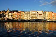 France,  Languedoc Roussillon, Hérault, Sète, le canal