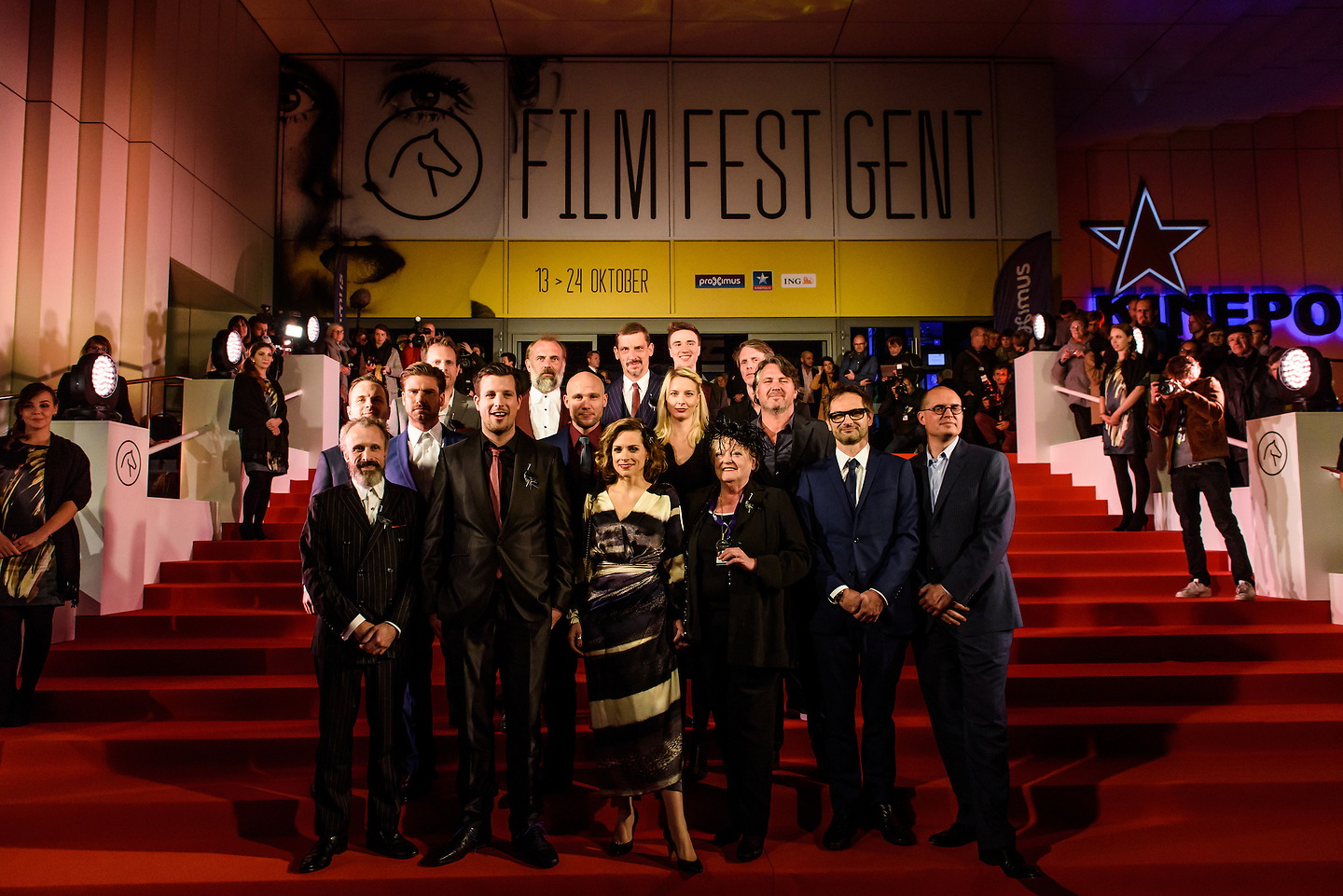 Film Fest Gent - Red carpet @ opening 42nd FFGENT (13-10-2015)