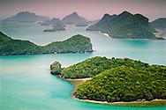 Parque Nacional de Mu Ko Ang Thong. Tailandia.