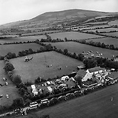 1963 - Aerial view of the Kennedy homestead at Dunganstown