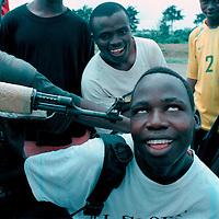 Liberia child soldiers