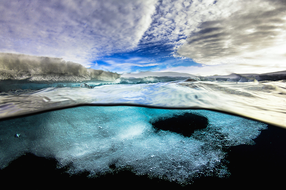 Over and under the ice